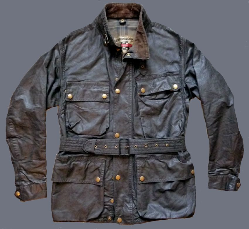 Vintage Belstaff Vintage Military Jacket Waxed Cotton