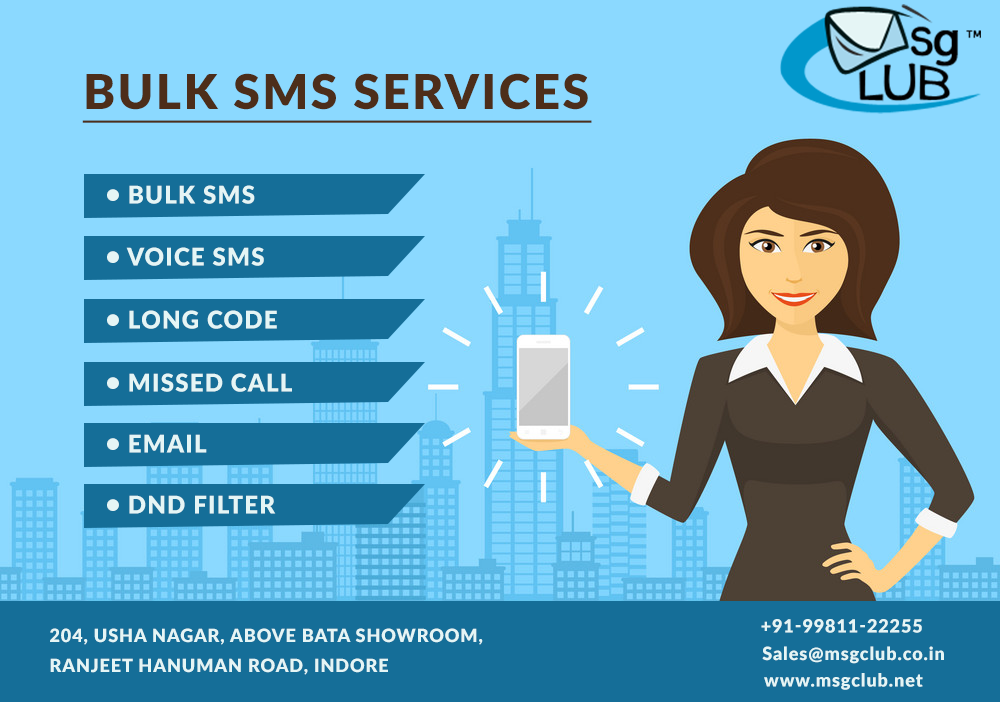 Bulk SMS application integrated within your business