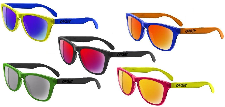O óculos de sol Oakley Frogskin foi uma verdadeira febre no final dos anos  80, a0bca3c8a9