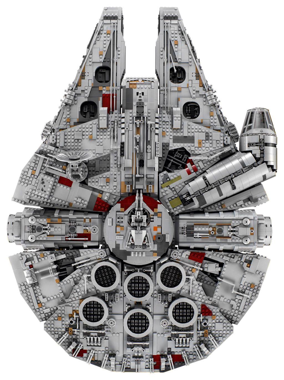 Lego Star Wars Ucs Millennium Falcon 75192 Top 2017 Jpg 1024 1370 Millennium Falcon Lego Lego Star Wars Lego Star
