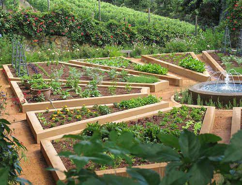 Juste Un Potager De Reve Gardens Potager Jardins Et