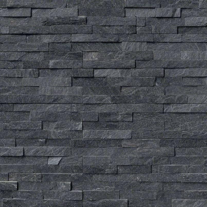 Coal Canyon Ledger Panel 6 X 24 Natural Quartzite Wall Tiles