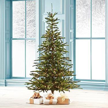Pre Lit Noble Fir Artificial Christmas Tree Christmas