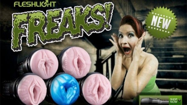 These are real. Fleshllights ew