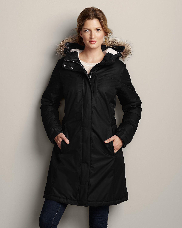 Weatheredge Superior Down Stadium Coat Eddie Bauer Coat Jackets For Women Duffle Coat [ 1500 x 1200 Pixel ]