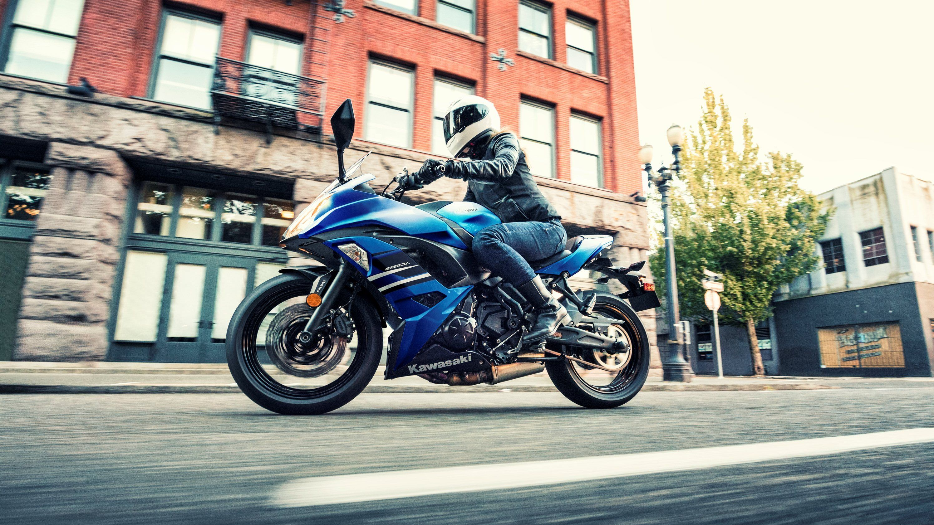 2017 2019 Kawasaki Ninja 650 Kawasaki Ninja Ninja Blue
