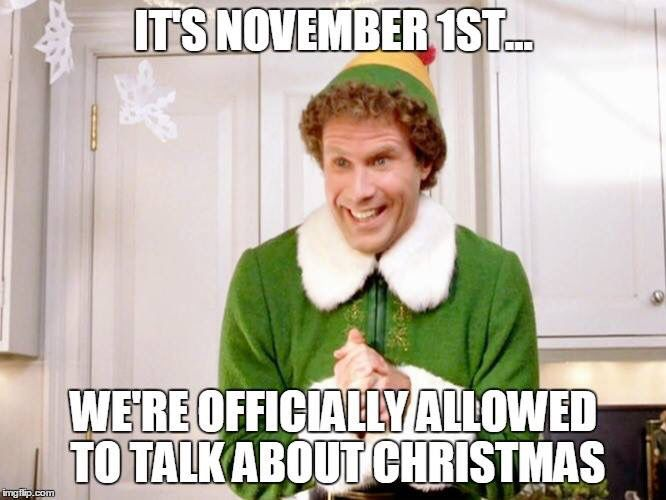 Funny Memes For November : Buddy the elf meme peeing in my pants pinterest