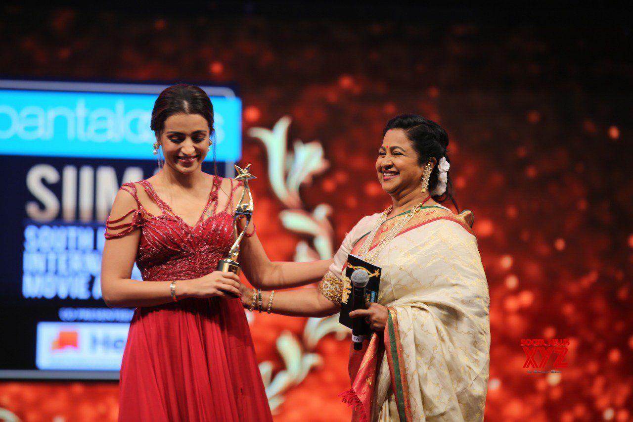 Trisha Bags Best Actress Tamil And Critics Best Actress