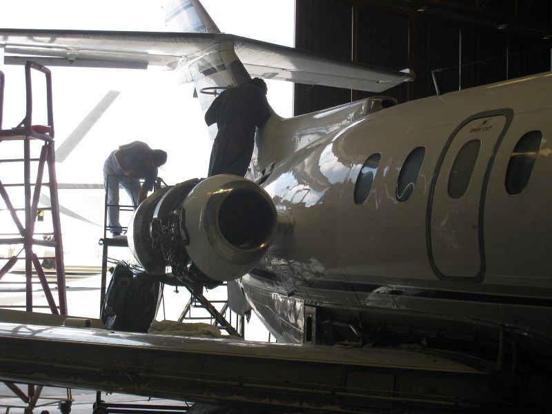 Health and safety issues in aircraft maintenance