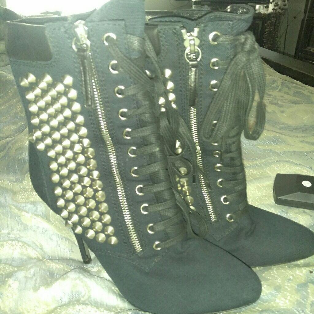 Balmain Shoes | Balmain Boots | Color: Blue | Size: 8