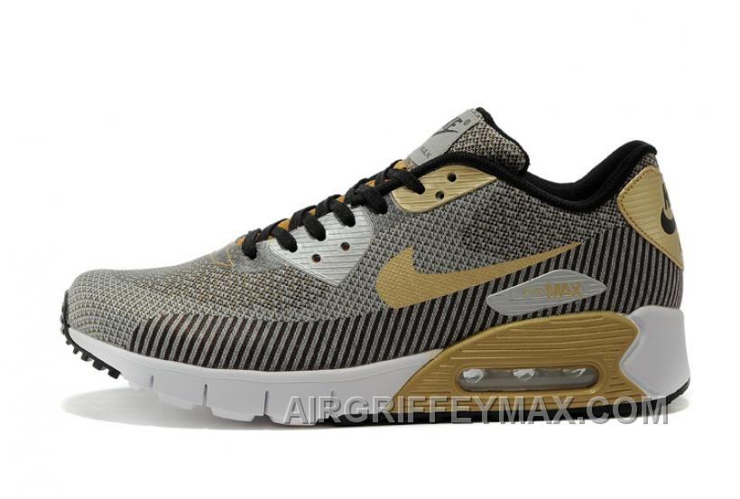 newest 26295 99fa4 http   www.airgriffeymax.com soldes-profiter-de-lachat-homme-nike-air-max-90 -jacquard-prm-qs-grise-beige-noir-blanche-chaussures-pas-cher-du-tout-new.html  ...