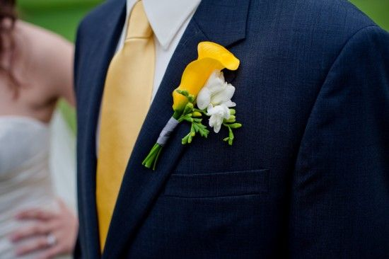 Yellow And Navy Blue Suit I Would Do Bright Green