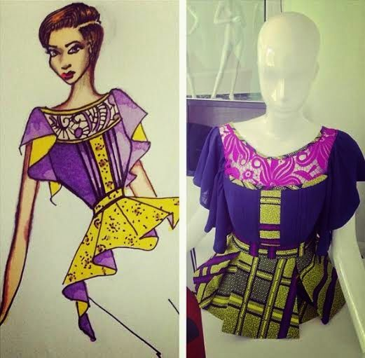 Welcome To Linda Ikeji S Blog Style Temple 3 Month Intensive Training In Fashion Illustration And Desi African Fashion Ankara African Clothing African Fashion