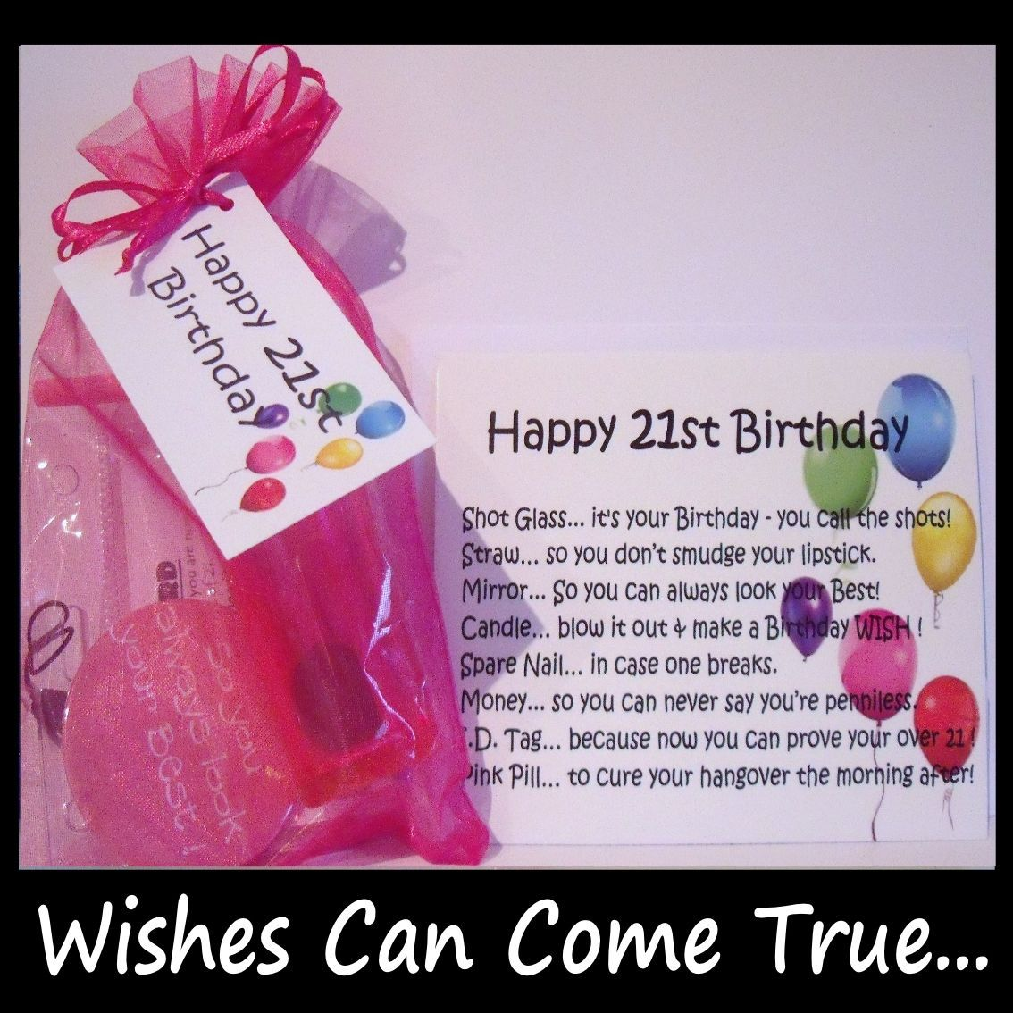 21st Birthday Gifts 21st Birthday Survival Kit Gift Card 21st