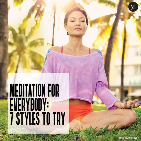 meditation for everybody 7 styles to try  hatha yoga