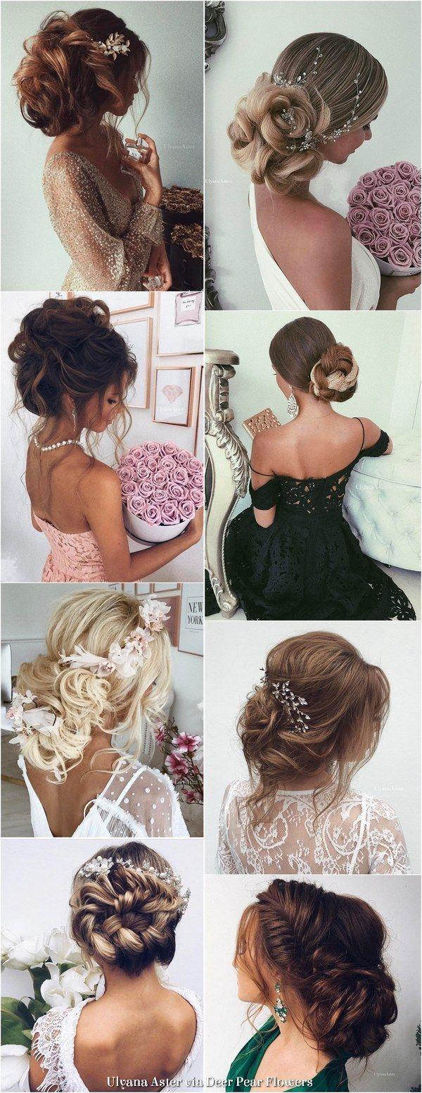 Coiffure De Mariage : Ulyana Aster Long Wedding Hairstyles Inspiration - www.ulyanaaster.com | Deer Pe...