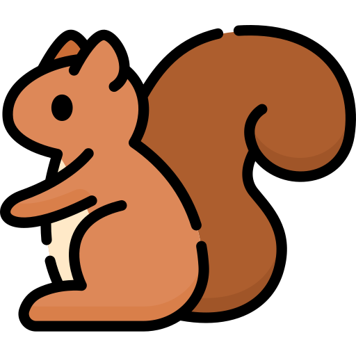 Squirrel Free Vector Icons Designed By Freepik In 2020 Icon Doodle People Free Icons
