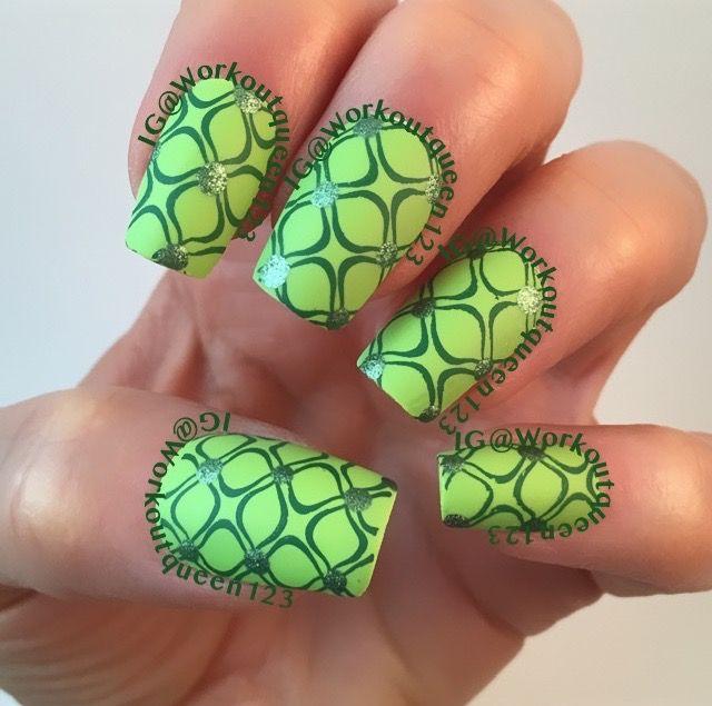 Re-fresh mint polishes used #fingerpaints Grassy Knoll #hardcandy ...