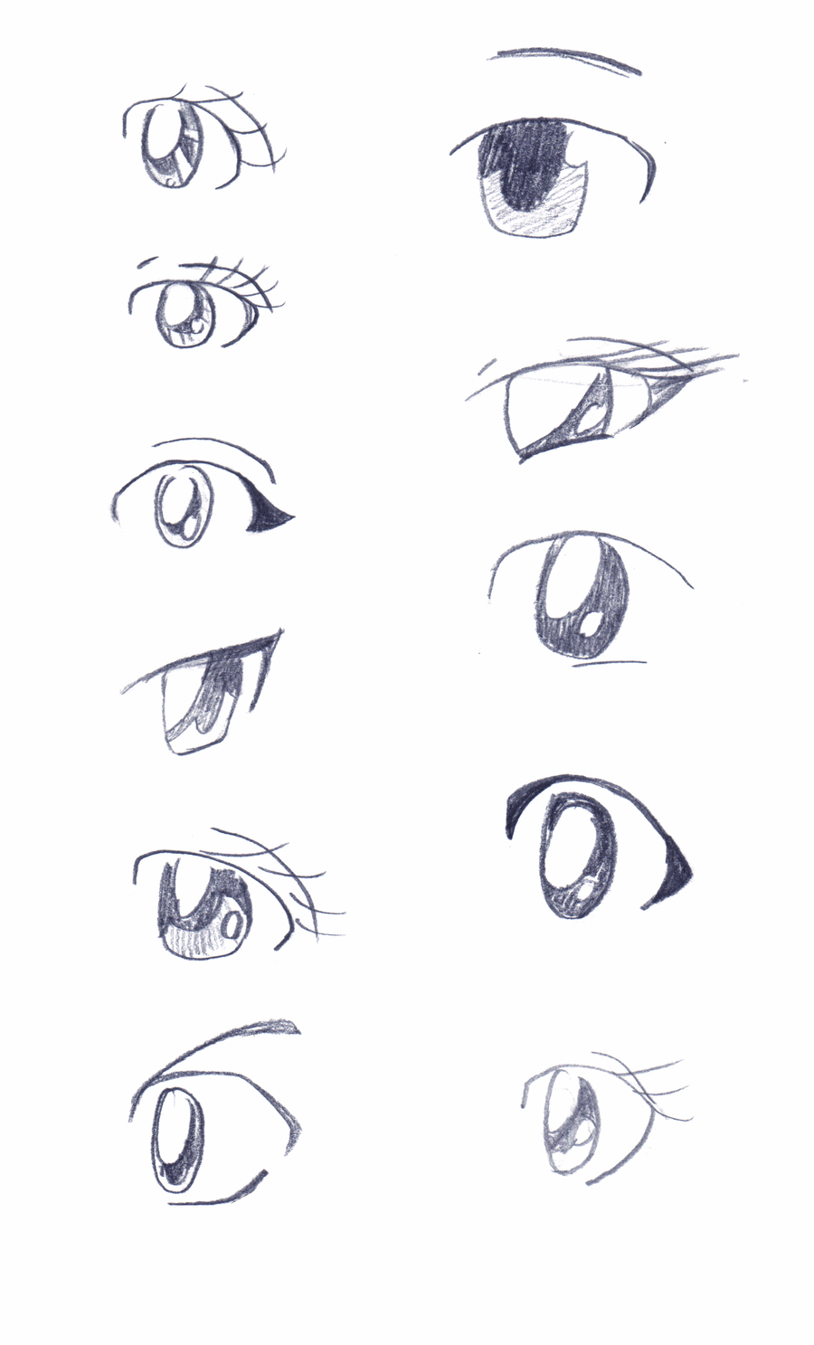 side view anime Google Search Anime eyes, How to draw