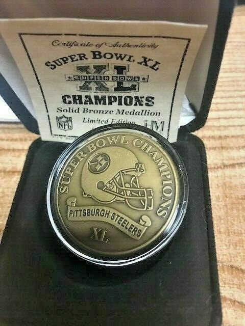 steelers super bowl coins