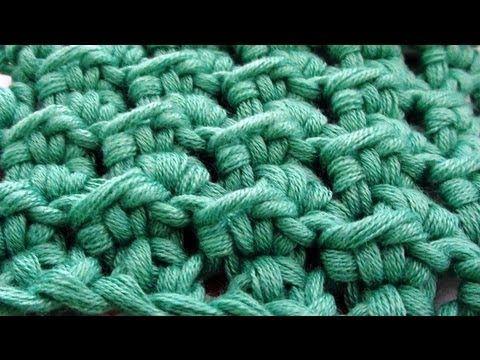 Crochet Stitches Meladoras Thick Mesh Brick Stitch Tutorial