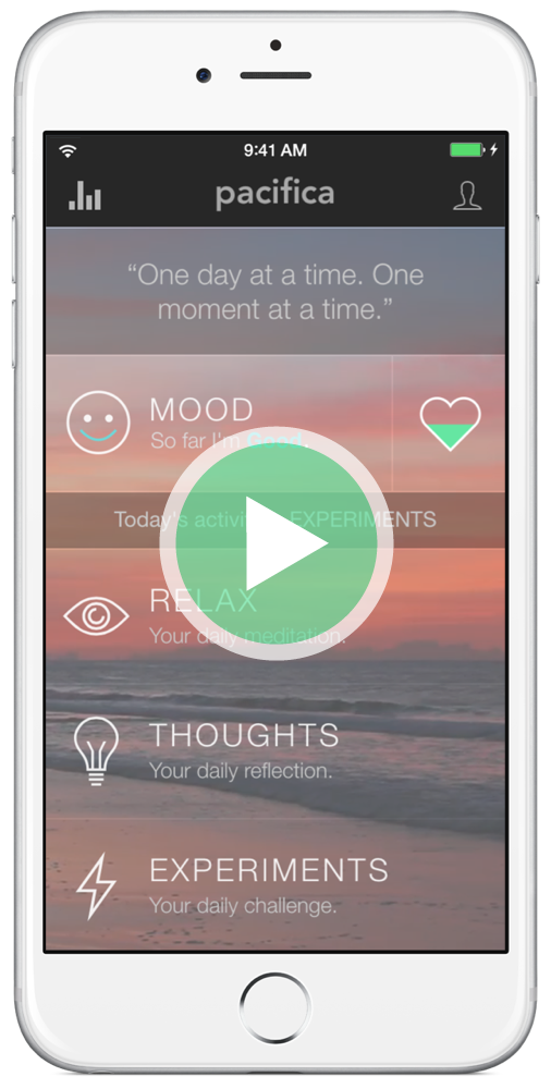 An app for relieving stress.  Who can't use that?