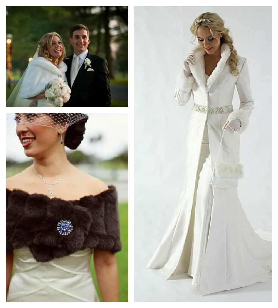 Top Winter Wedding Wraps
