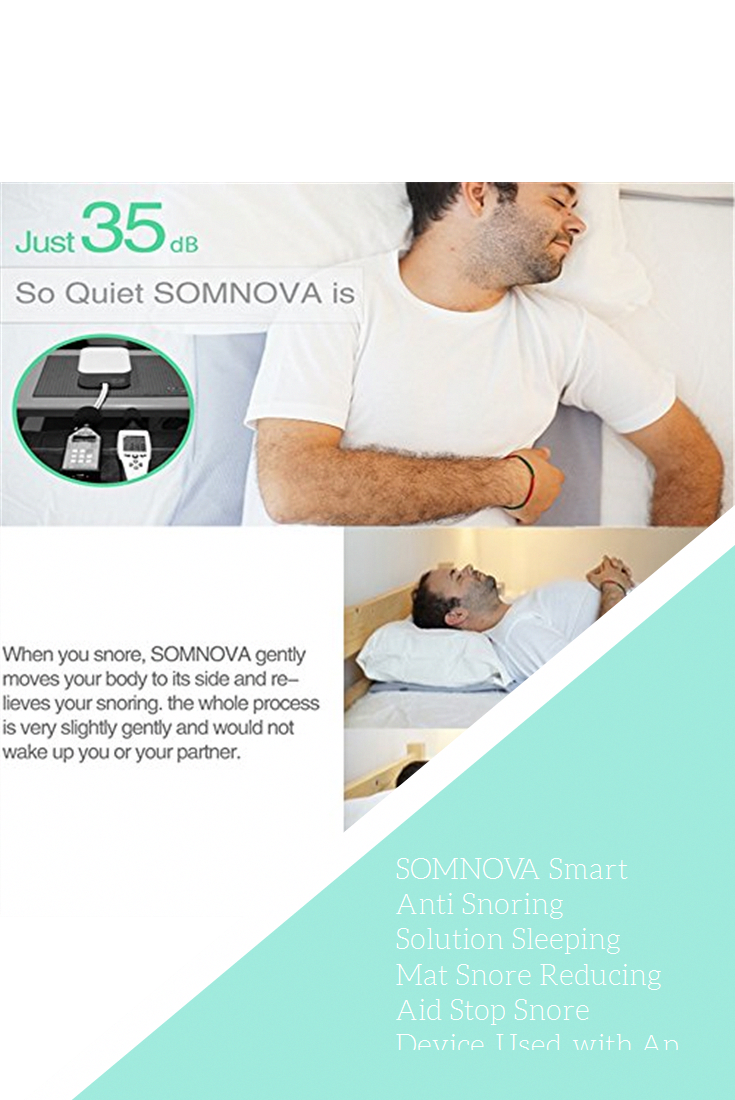 Stop Snoring Aids Somnova Smart Anti Snoring Solution Sleeping Mat Snore Reducing