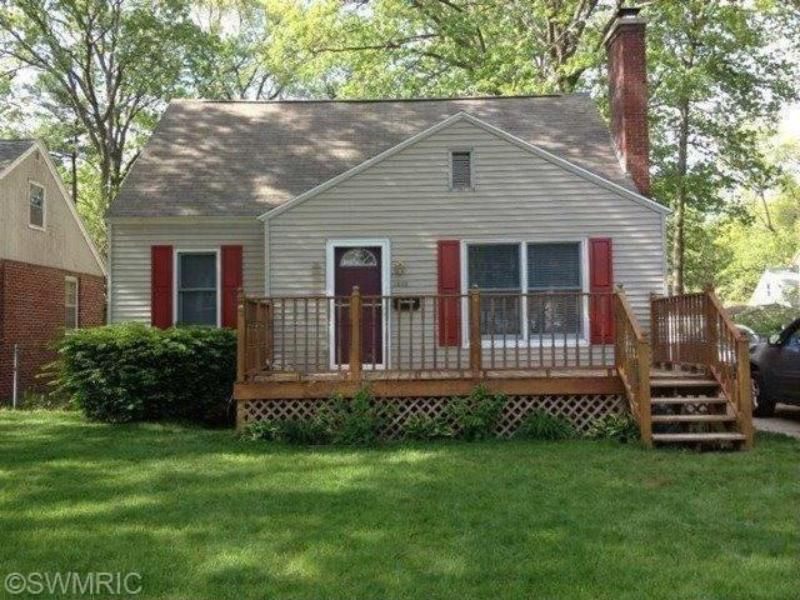 This Charming 3 Bedroom 1 Bath Cape Cod Is Located In The Well