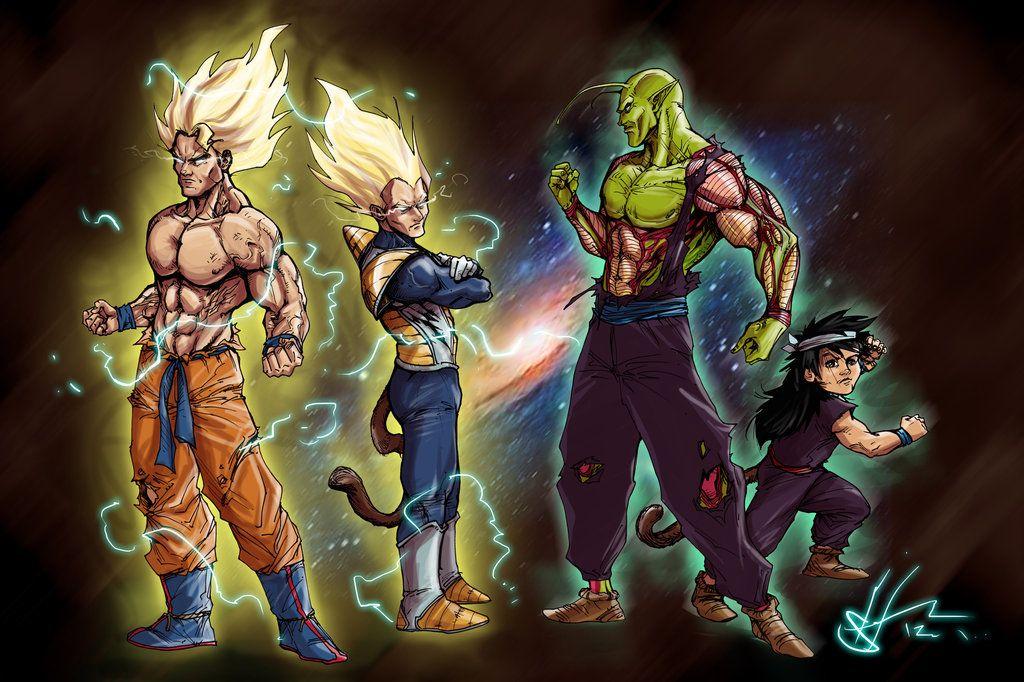 Dbz Unleashed By Scottssketches Deviantart Com On Deviantart Dragon Ball Dbz Dragon Ball Goku