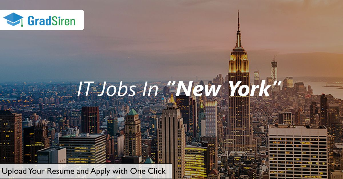 Are you looking to get an it job in new york its easy