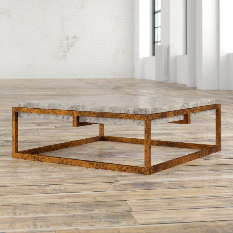 Tabetha Solid Coffee Table Coffee Table Modern Furniture Living