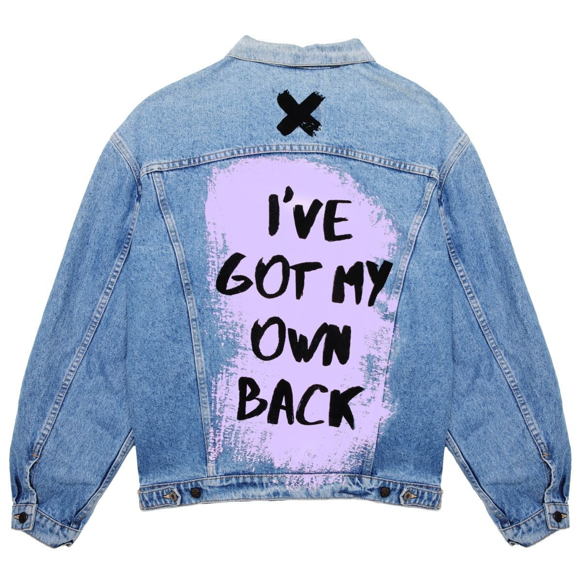 My Account Creoate At Some Point In Time Somebody Out There May Have Made You Believe That In Order T Jean Jacket Outfits Denim Jacket Diy Paint Diy Jacket [ 1200 x 1200 Pixel ]