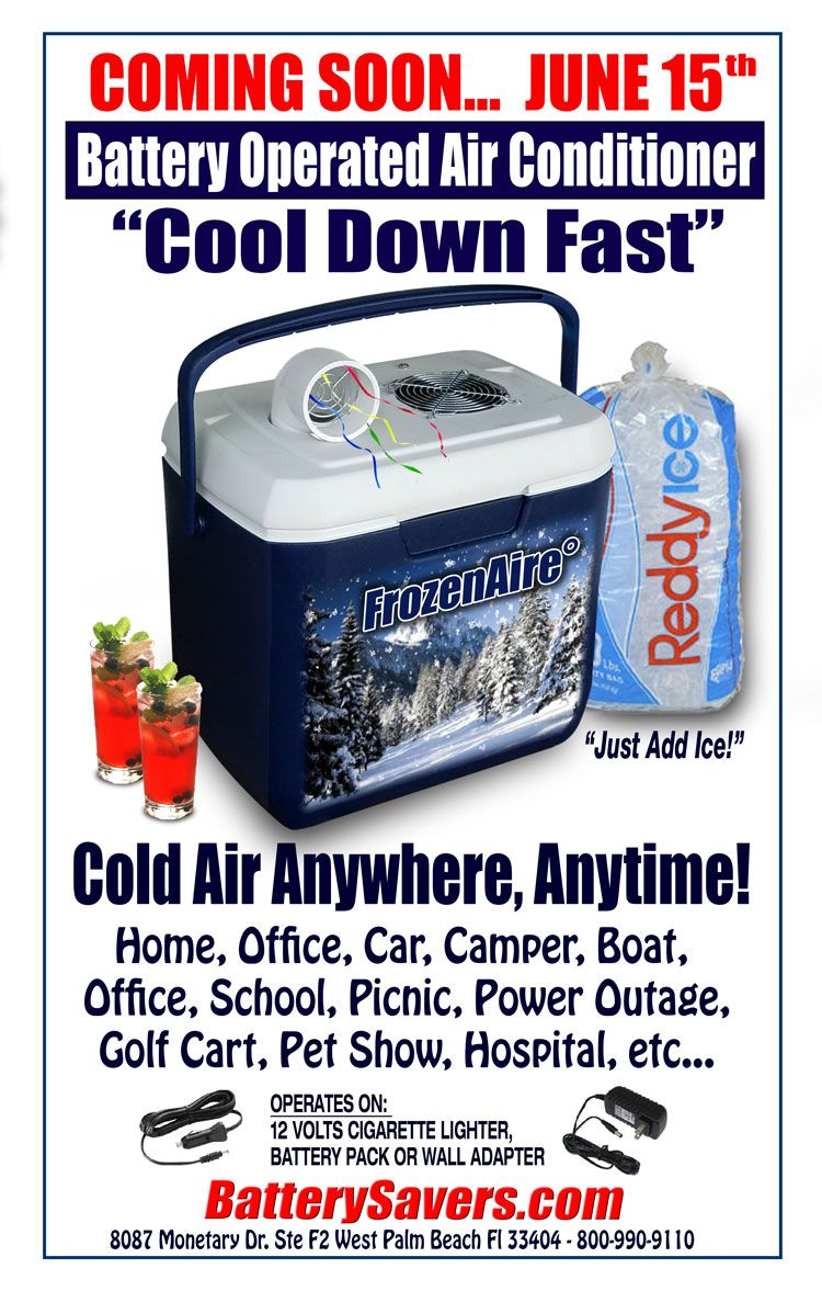 Frozenaire 176 Battery Operated Air Conditioner From