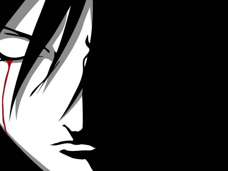 Wallpaper Anime Vector Hd Uchiha Sasuke Naruto Shippuuden Anime Vectors Closed Eyes 60 One Piece Black And White Wallpapers Download At 2875760 3840x2160 An