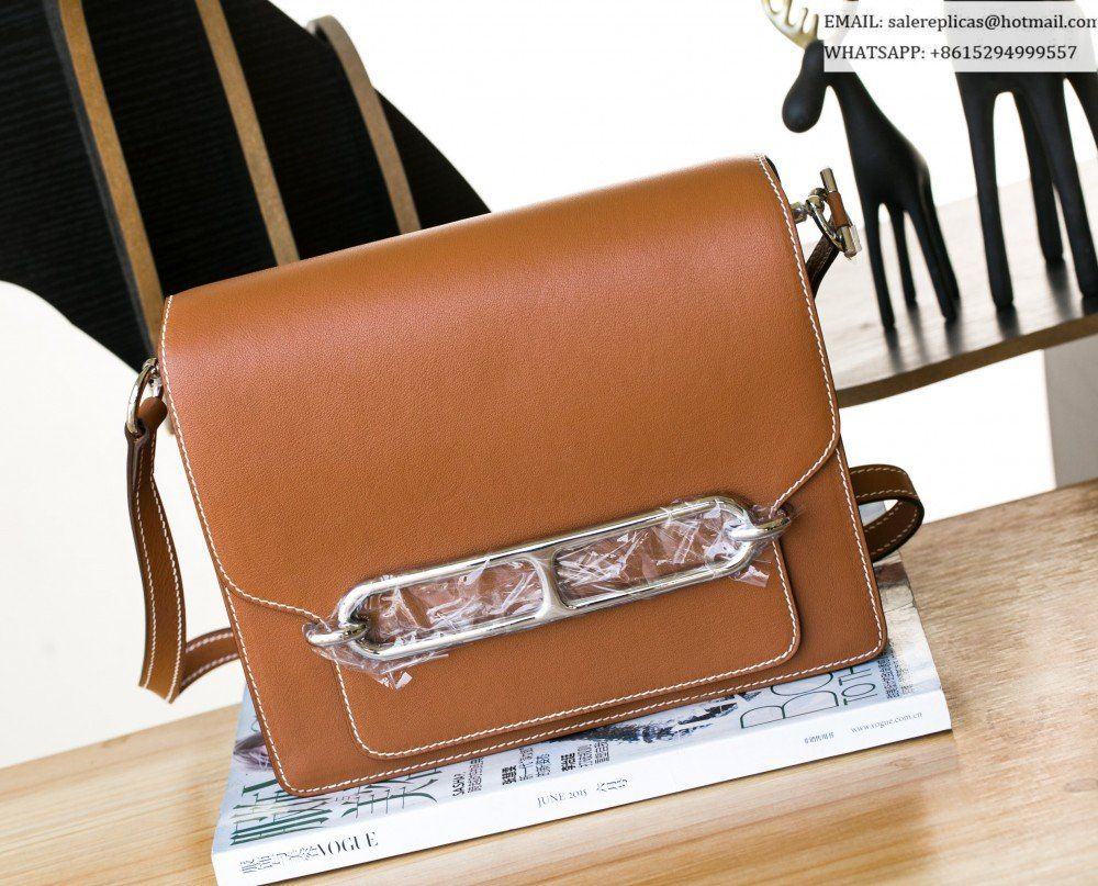 66078dd3825a Hermes Roulis 23 bag-Gold Swift Leather