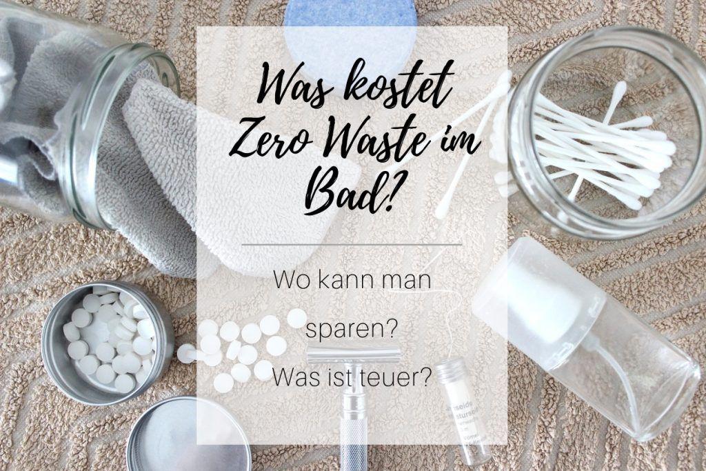 Was kostet Zero Waste im Badezimmer Platzkartenhalter