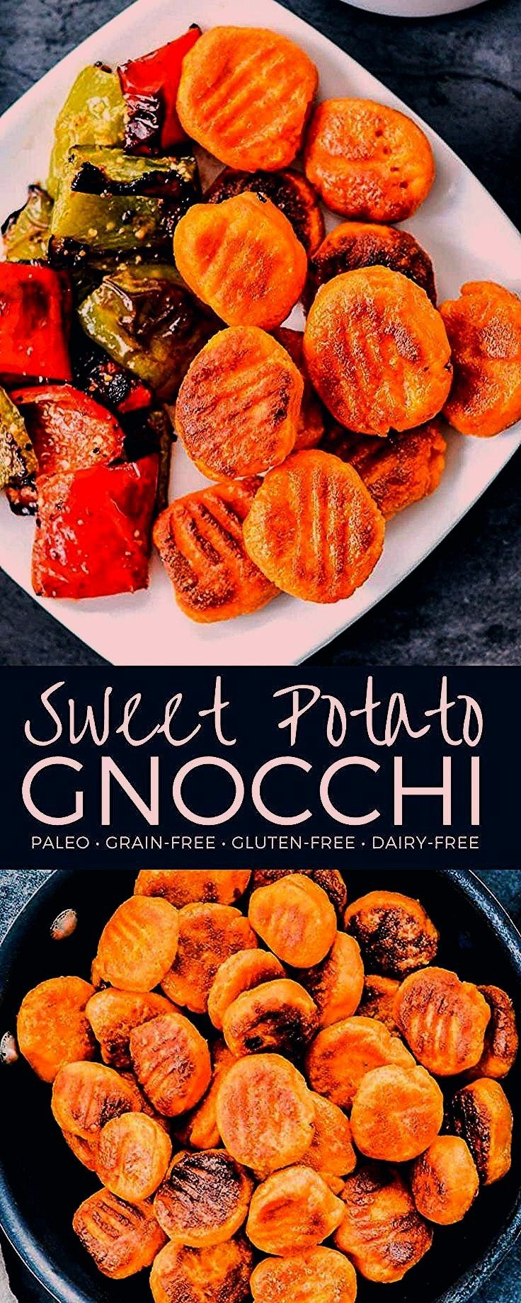 Potato Gnocchi Recipe Made with only 6 ingredients this delicious homemade pasta is glutenfree grainfree  dairyfree Its boiled then browned in olive oil for an extra spec...