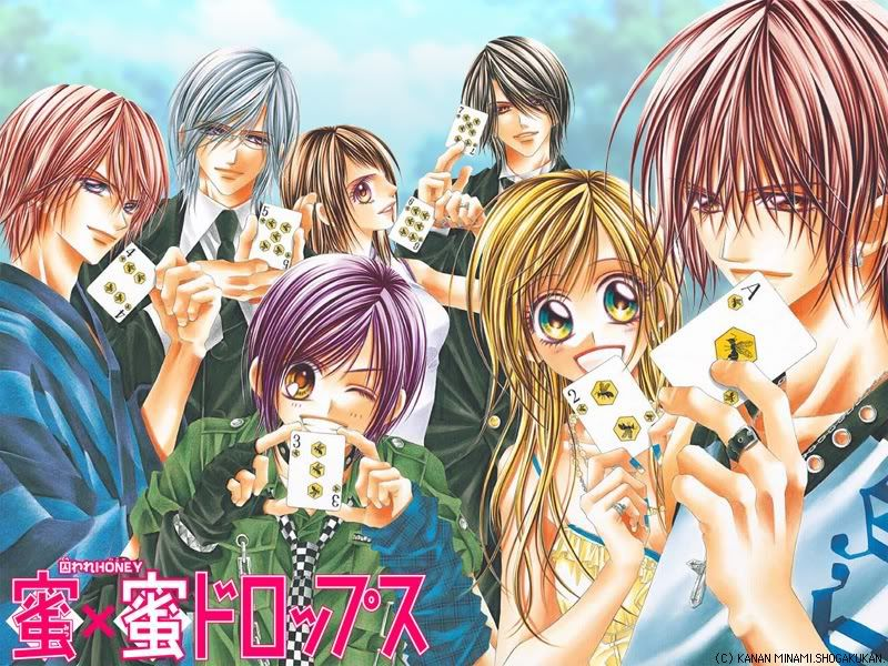 Mangas & Animes: Honey x Honey Drops