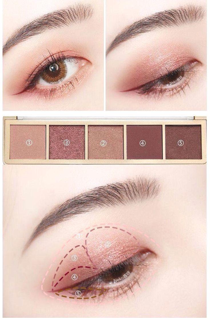 Korean makeup ideas, Use matte as opposed to shimmer blush