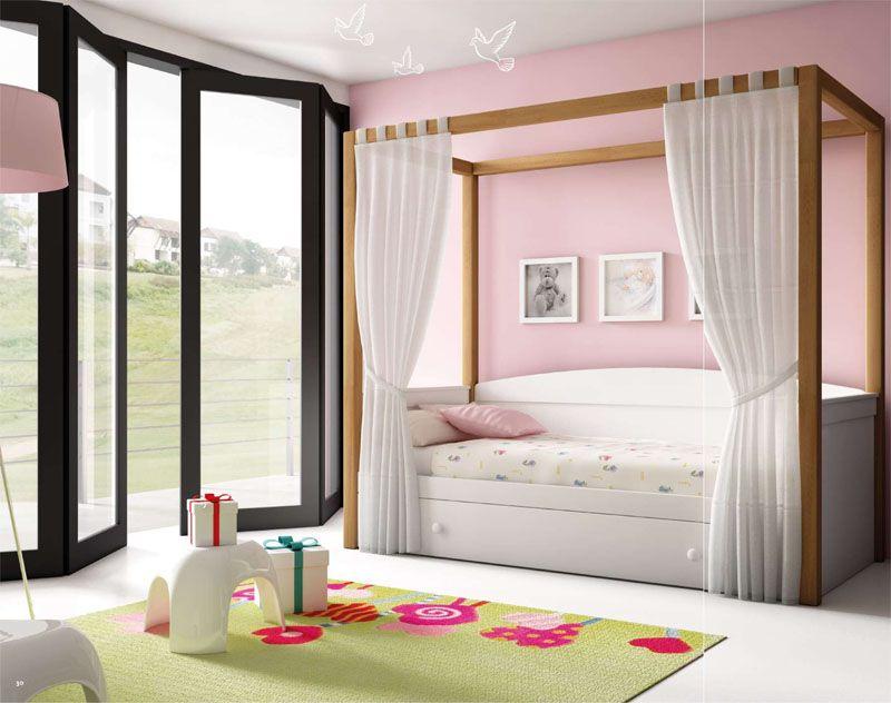 Dormitorios juvenil cama nido dosel sprin dormitorios dormitorios doseles y dormitorios - Doseles para camas ...