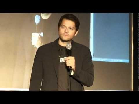 My favorite Misha Con video. JIB. Tease!