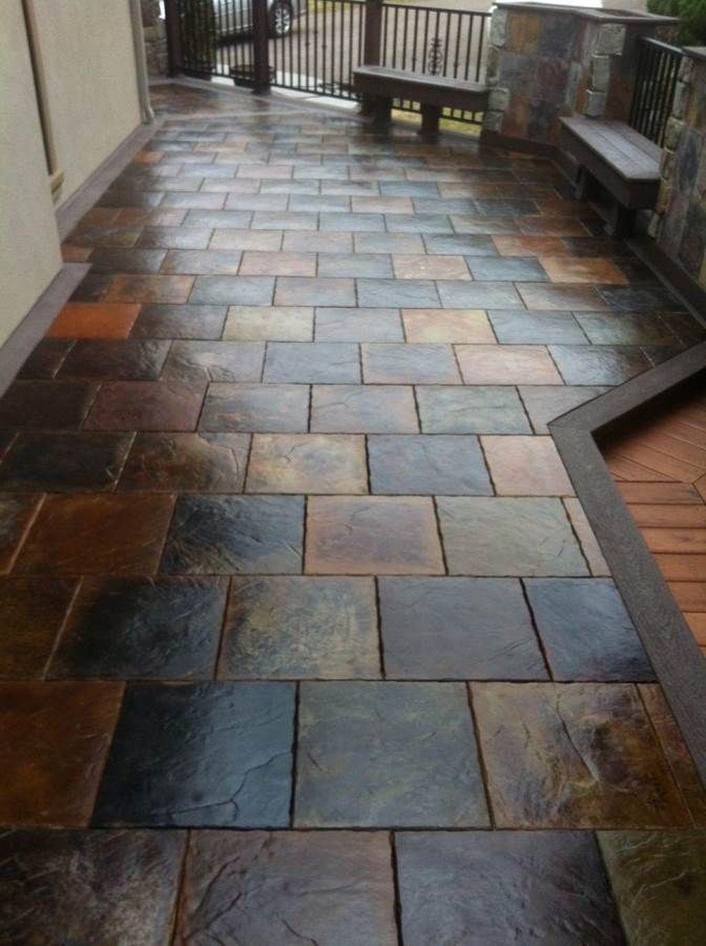 44 Modern Elegant Tile Ideas For Your Home Porch Tile Patio