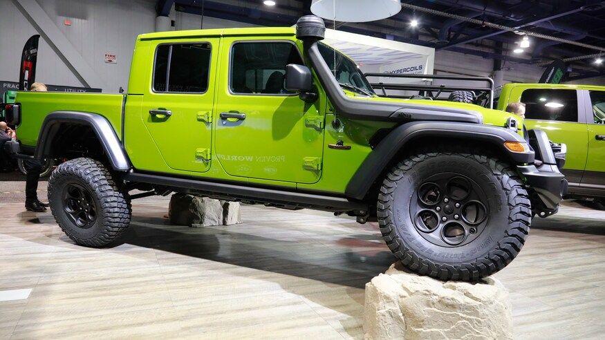Mega Gallery The Wildest Custom Jeep Gladiator Jt Builds Of Sema 2019 Em 2020