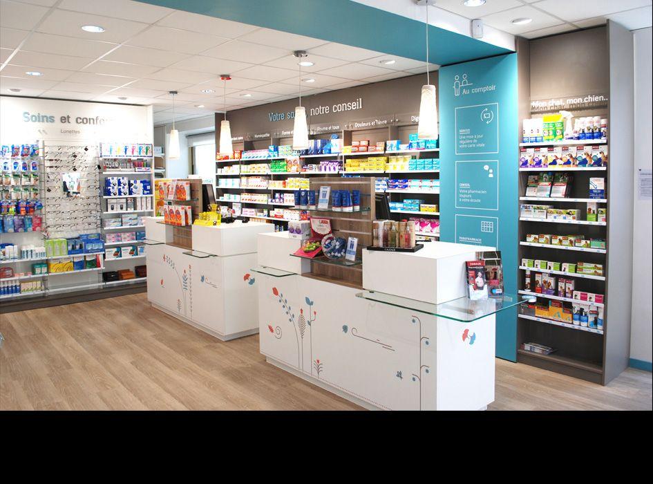 Des exemple d 39 agencements de pharmacie par jbcc - Le comptoir des pharmacies ...
