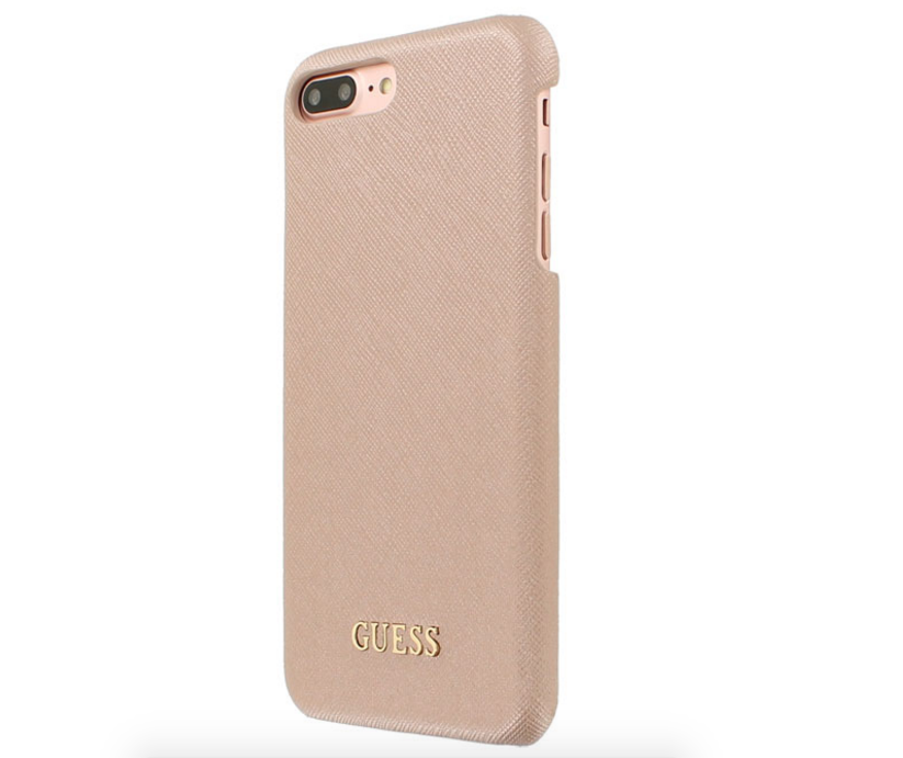 3ebc5c543b9 Guess Saffiano Syle Stuff for iPhone 7 Plus - Rose Gold | thinsd we love