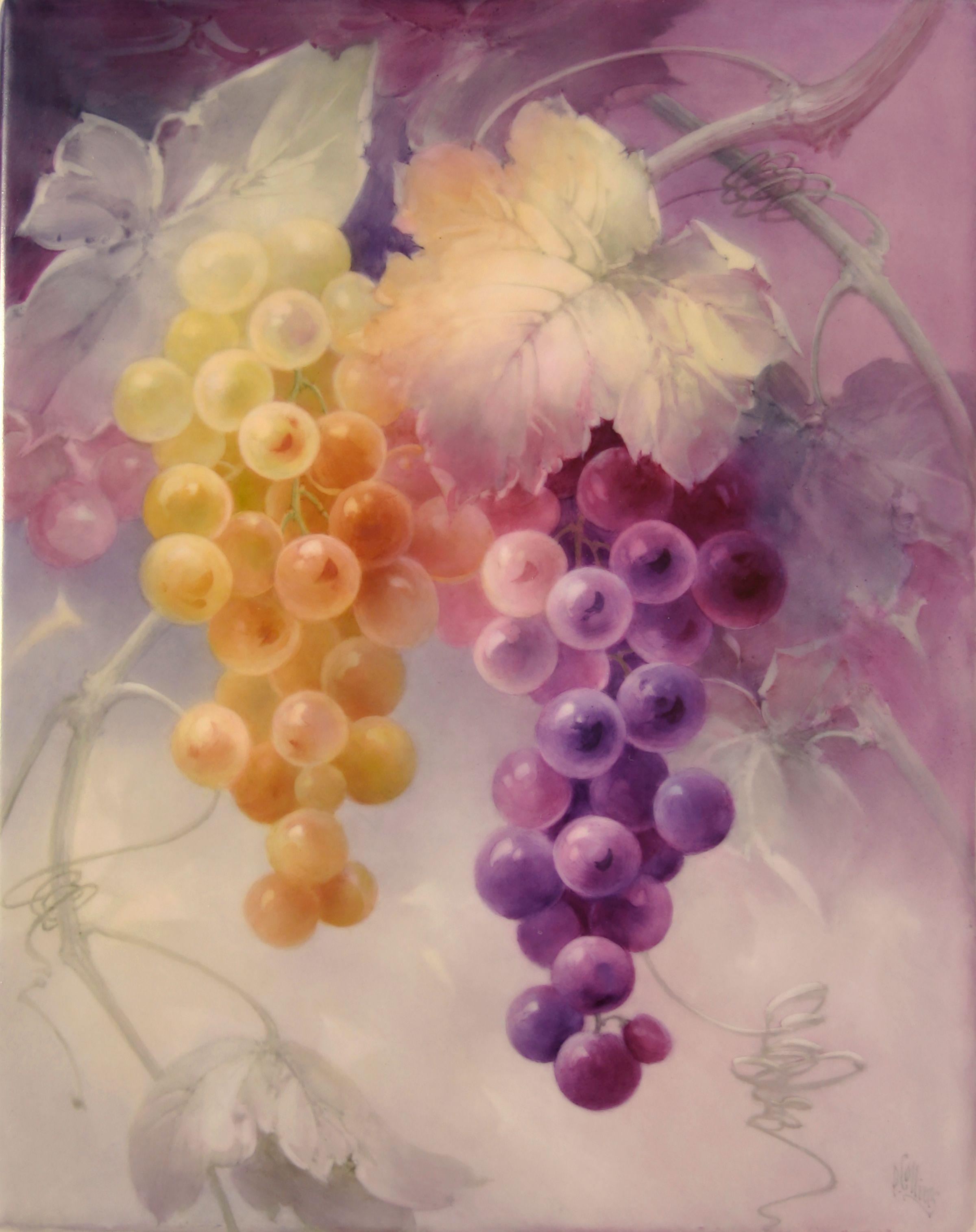 Yellow & Purple Grapes
