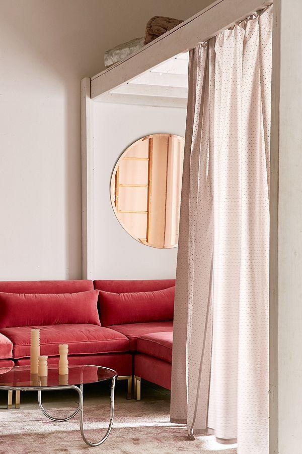 Mid-Century Modern Wood Curtain Rod | Mid century modern ...