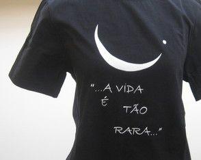 ad46b8adc Camiseta frase musical
