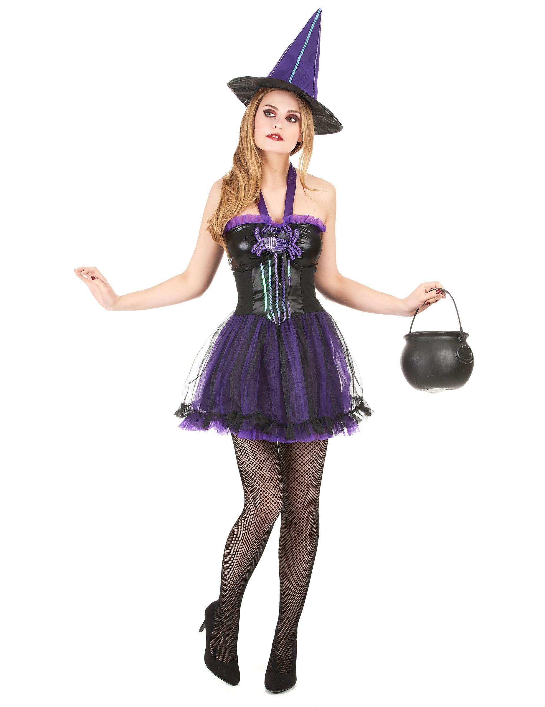 Costume strega donna Halloween  Questo costume da strega da donna è  composto da un vestito 2096060dc678
